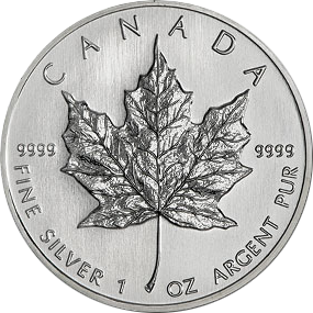 Maple Leaf  2012- Canada 1 oz