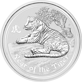 Year of the Tiger 2010 - 1 oz