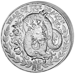 Year of the Dragon 2012  1 oz  Somaliland
