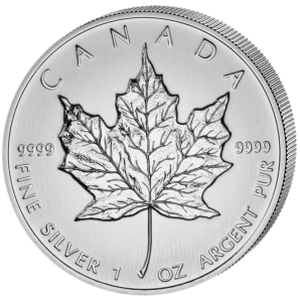 Maple Leaf  2013- Canada 1 oz