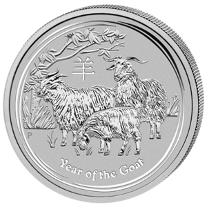 Year of the Goat 2015 - 1 oz